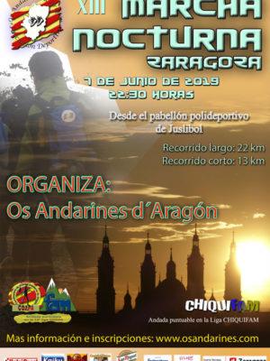 2019-XIII-NOCTURNA-ZARAGOZA-CARTEL